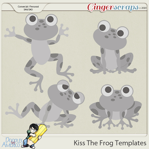 Doodles By Americo: Kiss The Frog Templates