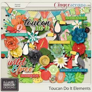 Toucan Do It Elements Pack by Aimee Harrison