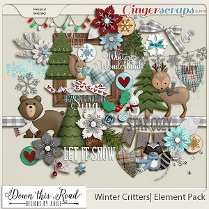Winter Critters|Element Pack