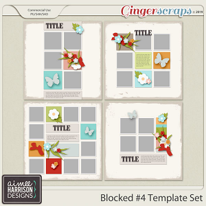 Blocked #4 Templates by Aimee Harrison