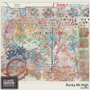 Rocky Mt High Graffiti by Aimee Harrison