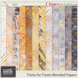 Tricks for Treats Blended Papers by Aimee Harrison
