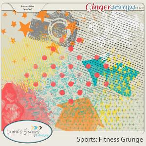 Sports: Fitness Grunge
