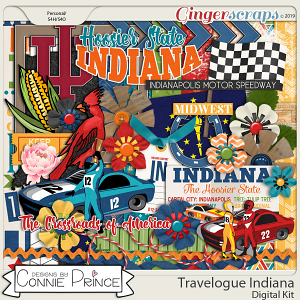 Travelogue Indiana - Kit by Connie Prince