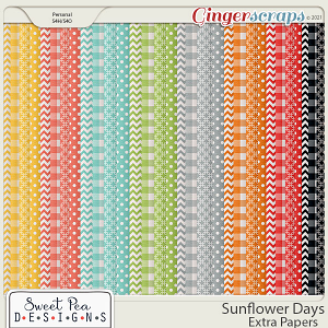 Sunflower Days Extra Papers