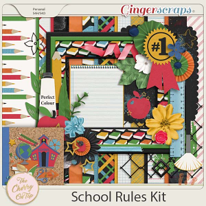 The Cherry On Top:  School Rules Kit