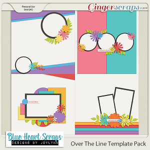 Over The Line Template Pack