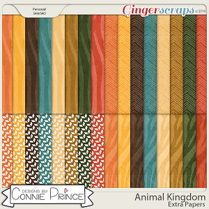 Animal Kingdom - Extra Papers  by Connie Prince