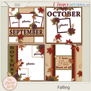 The Cherry On Top:  Falling Templates