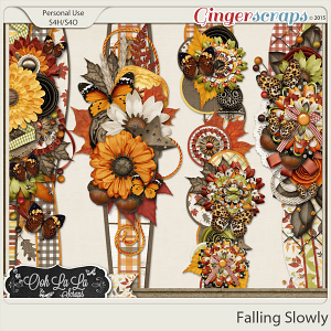 Falling Slowly Page Borders