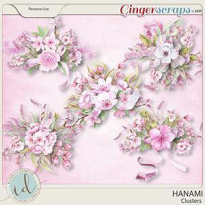 Hanami Clusters by Ilonka's Designs