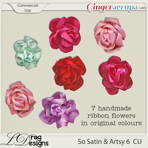 So Satin & Artsy 6 CU by LDragDesigns