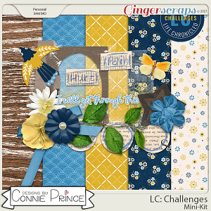Life Chronicled: Challenges - MiniKit by Connie Prince