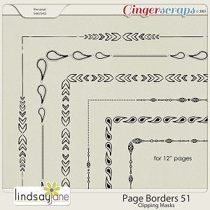 Page Borders 51 by Lindsay Jane