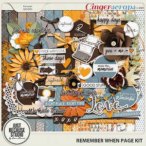 Remember When Page Kit by JB Studio