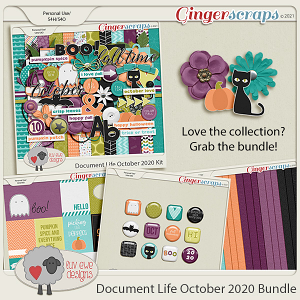 Document Life October 2020 Bundle by Luv Ewe Designs
