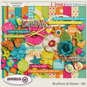 Brothers & Sisters - Kit by Aprilisa Designs