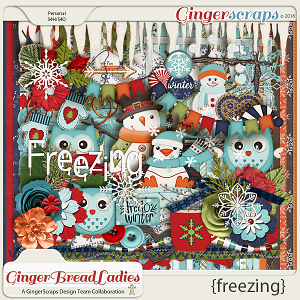 GingerBread Ladies Collab: Freezing