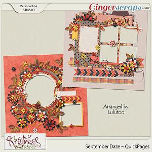 September Daze QuickPages