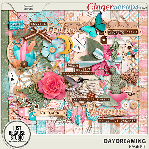 Daydreaming Page Kit by JB Studio