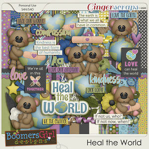Heal the World by BoomersGirl Designs