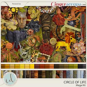 Circle Of Life Mega Kit by Ilonka's Designs