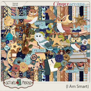 I Am Smart Bundle by Scraps N Pieces