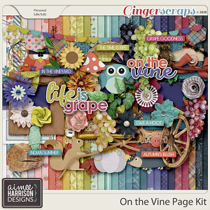 On the Vine Page Kit by Aimee Harrison
