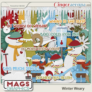 Winter Weary KIT by MagsGraphics