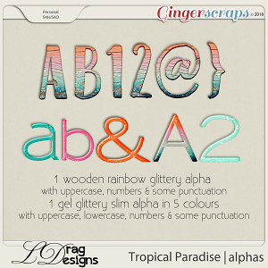 Tropical Paradise: Alphas by LDragDesigns
