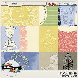 Namaste-ish - Journal Cards by Lisa Rosa Designs