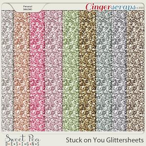 Stuck on You Glittersheets