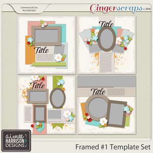Framed #1 Templates by Aimee Harrison