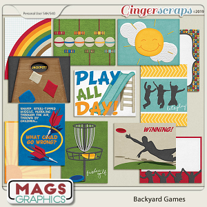 Backyard Games JOURNAL CARDS by MagsGraphics