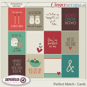 Perfect Match - Cards by Aprilisa Designs