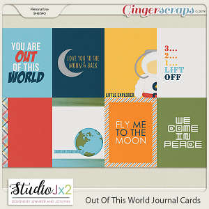 Out Of This World Journal Card Pack