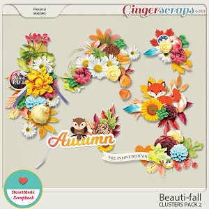 Beauti-fall clusters pack 2