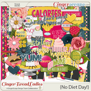 GingerBread Ladies Collab: No Diet Days