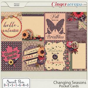Changing Seasons Pocket Cards