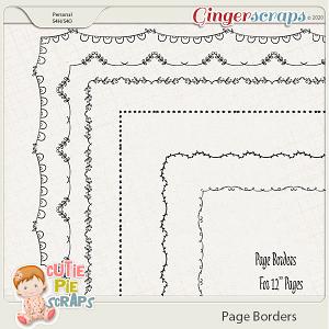 Page Borders 05 By Cutie Pie Scraps