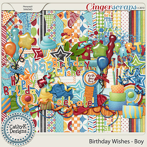 Birthday Wishes - Boy Kit