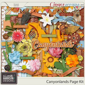 Canyonlands Page Kit by Aimee Harrison