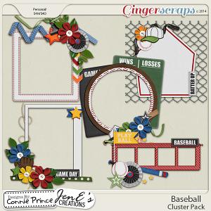 Baseball - Cluster Pack