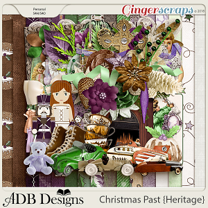 Christmas Past Mega Kit by ADB Designs