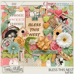 Bless This Nest Full Kit by Tami Miller Designs