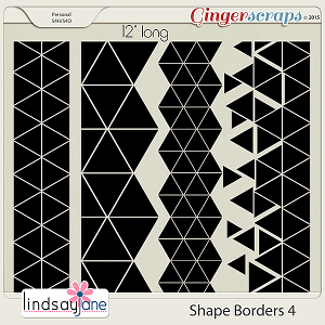 Shape Borders 4 by Lindsay Jane