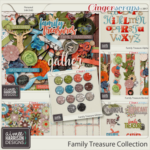 Family Treasure Collection by Aimee Harrison