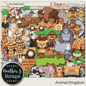 Animal Kingdom ELEMENTS by Heather Z Scraps