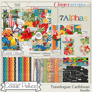 Travelogue Caribbean - Bundle by Connie Prince