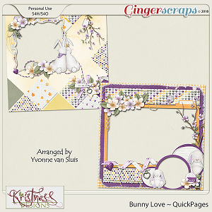 Bunny Love QuickPages